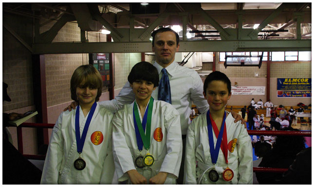 KI Martial Arts Kids Sync 9, 10 & 11yr-old medals